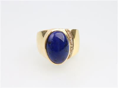 Lapis-Lazuli Ring - Jewellery and watches