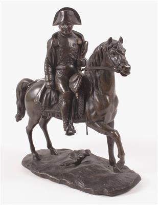 Napoleon Bonaparte Skulptur Antik Reiterfigur Pferdestatue Pferdeskulptur Deko
