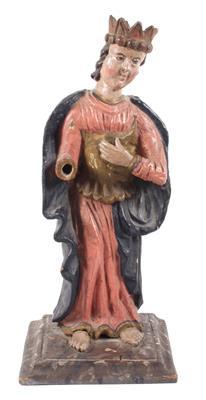 Heiligenfigur ohne Attribute