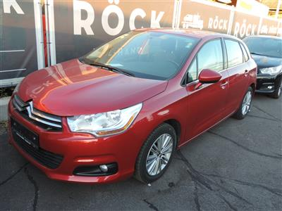 PKW Citroen C4, rot - Cars and vehicles