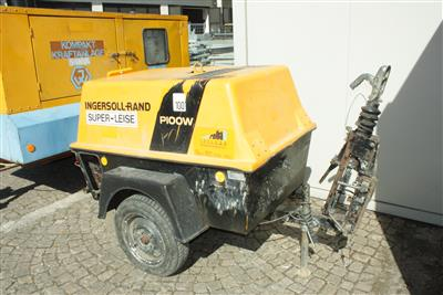 "Schraubenkompressor ""Ingersoll-Rand, P100WD"" - Cars and vehicles"