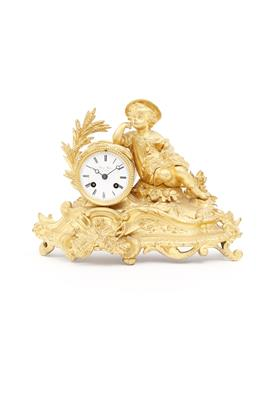 Historismuskaminuhr - Antiques, art and jewellery