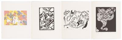 Wassily Kandinsky, 4 Bilder: