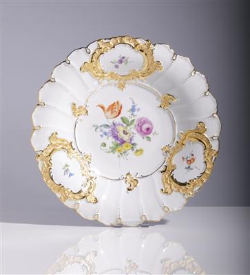 Prunkschale, Porzellanmanufaktur Meissen, 2. Hälfte 20. Jahrhundert