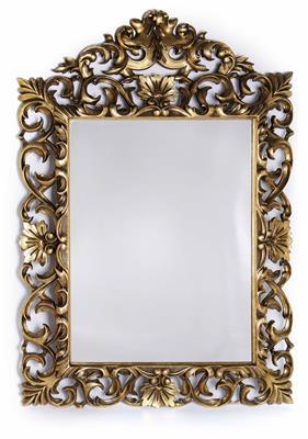 Spiegel- oder Bilderrahmen in florentiner Art, 19. Jahrhundert