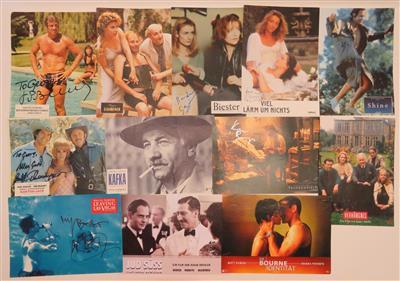 Autogramm Sammlung 34 Stück Und 9 Filmplakate Aus Film Klassik Und