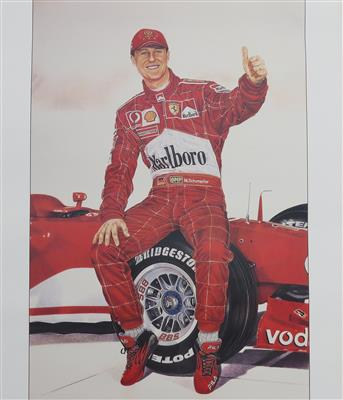 "Michael Schumacher ""The essence of Schumacher"" - Automobilia"