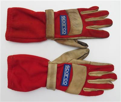 Sparco Formel 1 Rennhandschuhe/Racing Gloves - Automobilia