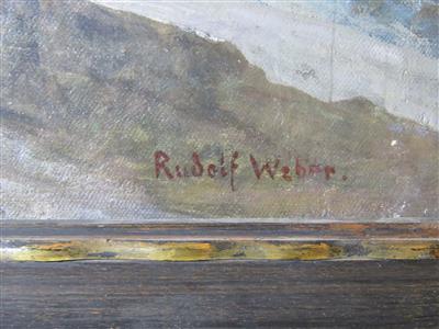 Rudolf Weber Olgemalde Und Aquarelle Des 19 Jahrhunderts