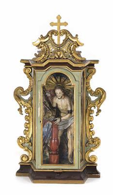 Christus an der Geißelsäule, Alpenländisch, 18. Jahrhundert