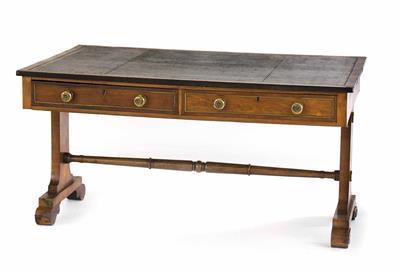 Englischer Partner's desk, Regency-Periode um 1830