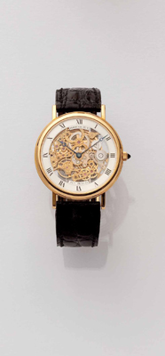 BREGUET-SKELETT - SALZBURG: Jewellery, Pocket and Wristwatches