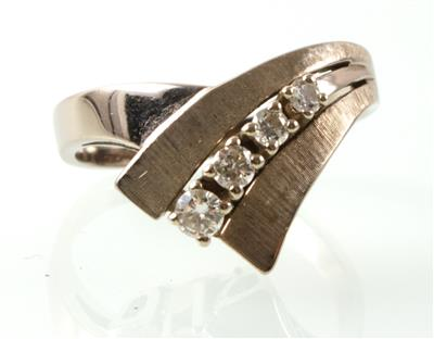 Brillantring zus. ca. 0,15 ct - Sale - auction