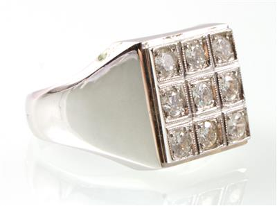 Brillantring zus. ca. 0,65 ct - Sale - auction