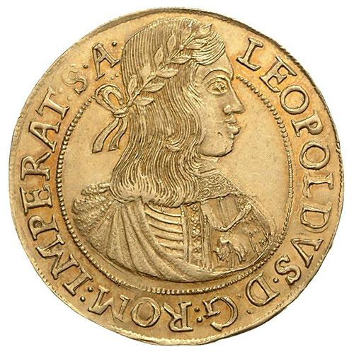 567416d8d Leopold I. GOLD 10 dukats 1663 Prag